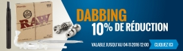 10% Réduction Dabbing